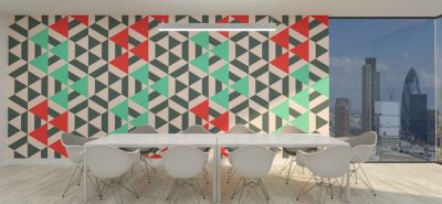 Patterned PrintWall panels
