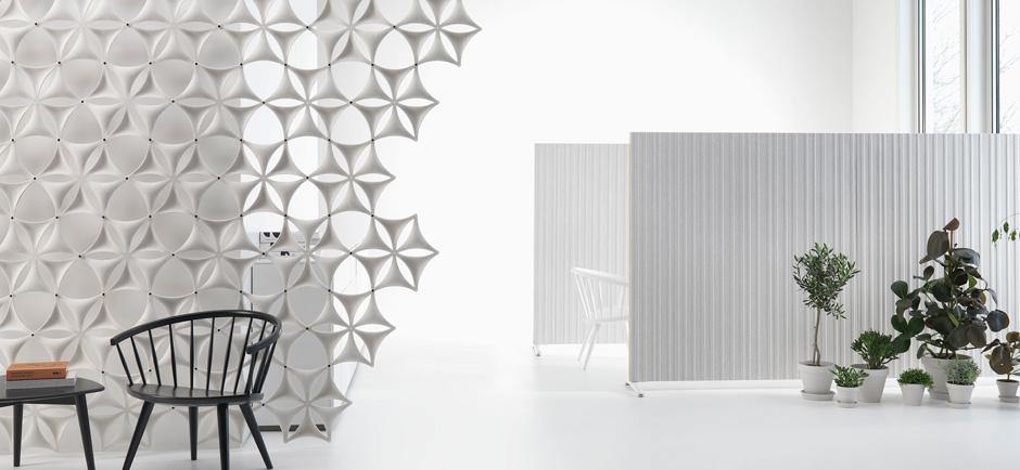 Abstracta airflake white panels