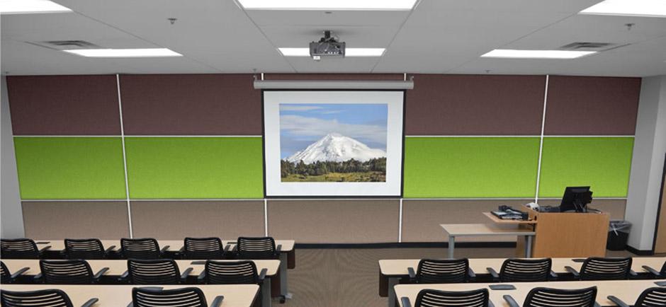 wallsorba soundsorba panels in classroom