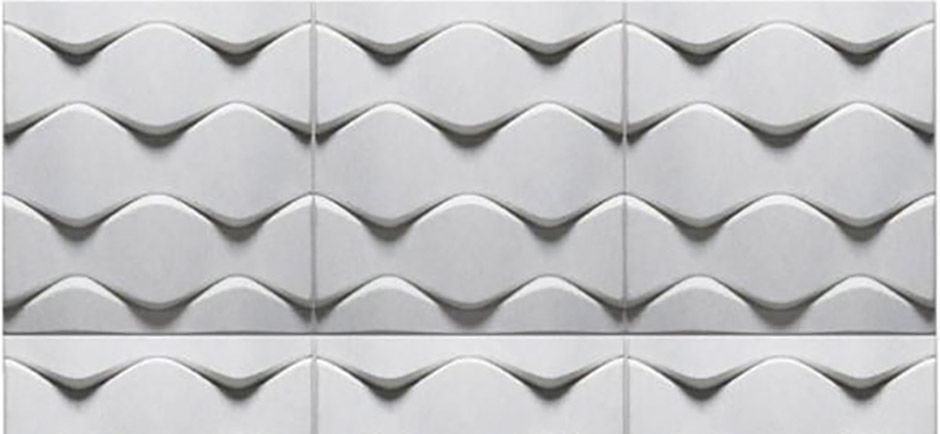 offecct soundwave flo white panel