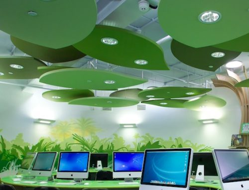 Ecophon Solo Acoustic Baffle Supply And Installation