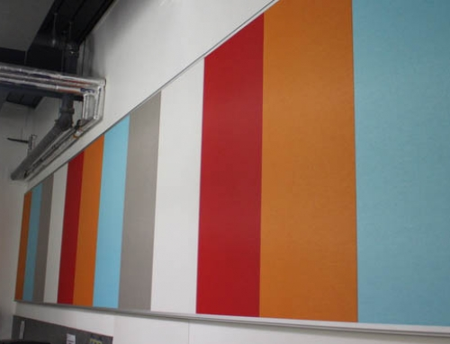 The Use of Acoustic Panels as Notice Boards – Ecophon's Safety Assurance