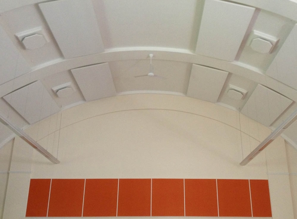 hanging_acoustic_panels_in_lofty_hall