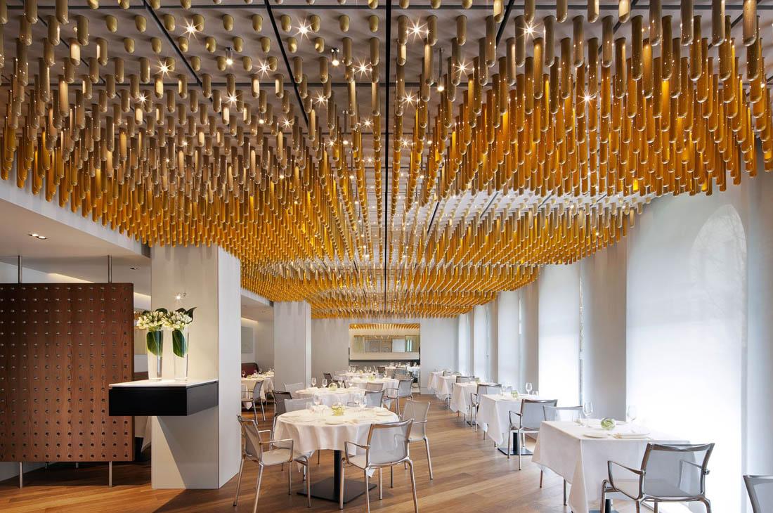 Ametsa Arzak restaurant ceiling