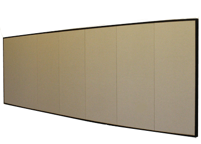 acoustic wall panelling in London office