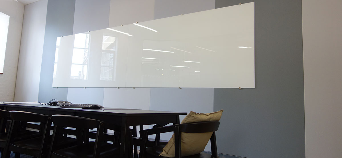 one fine stay meeting room with acoustic wall panels