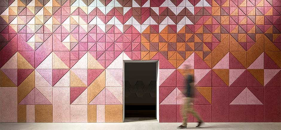 Purple BAUX tiles