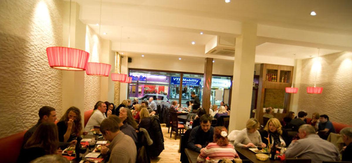 ephesus restaurant interior