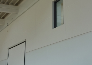 acoustic panels in school hall