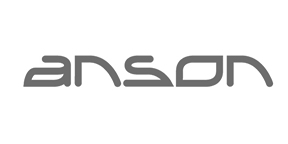 Anson packaging black and white logo