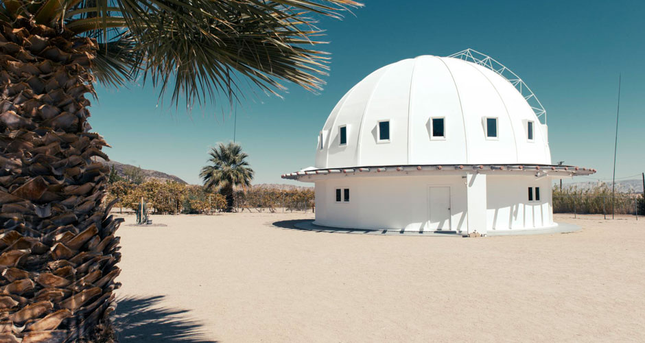 Integratron acoustic dome in California