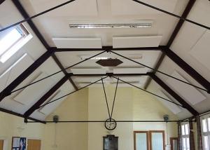 acoustic panels in frieth village hal