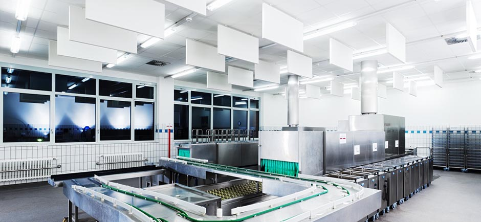 foodtec panels in small manufacturing plant