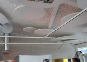plough way cafe ceiling acoustics