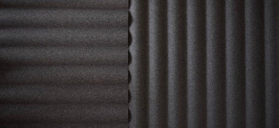 Close-up of Abstracta Scala panels