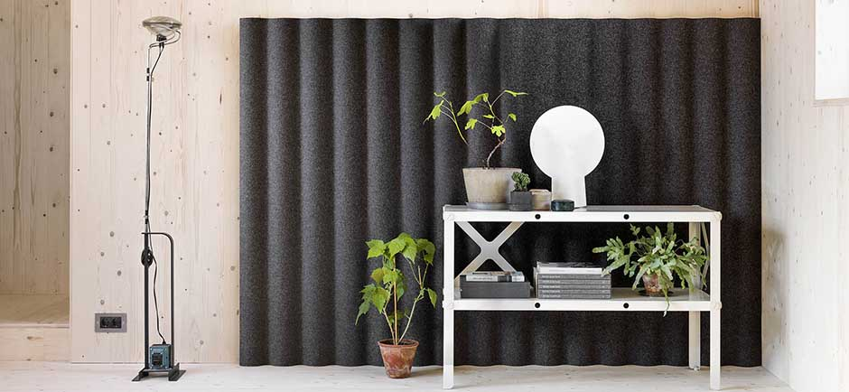 grey abstracta scala wall