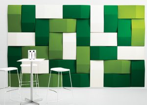 abstracta triline green wall