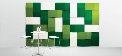 abstracta triline green wall