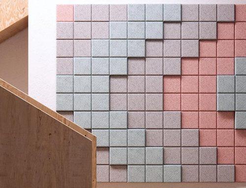BAUX 3D Pixel Acoustic Tiles
