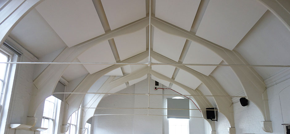 isledon hall acoustic treatment