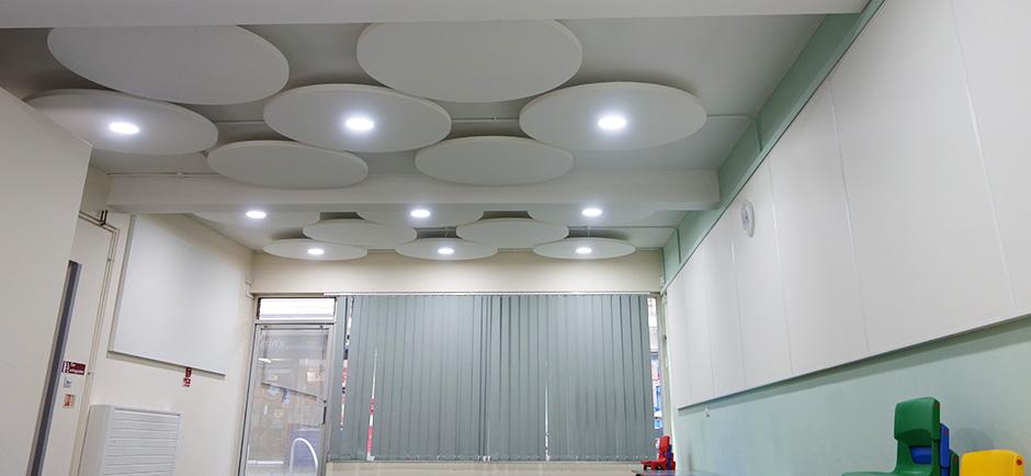 Classroom Acoustic Design ~ Phoenix group hertfordshire resonics