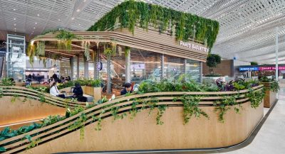biophilia in incheon airport