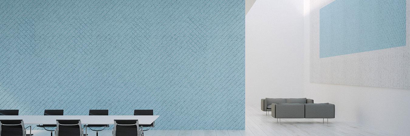 baux tiles in open space