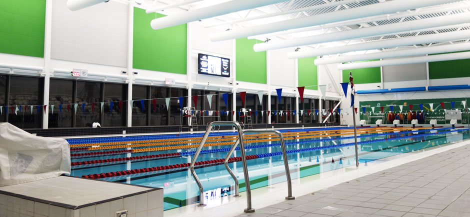 acoustic panels in leisure centre