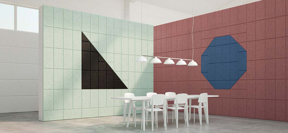 BAUX panels in meeting room