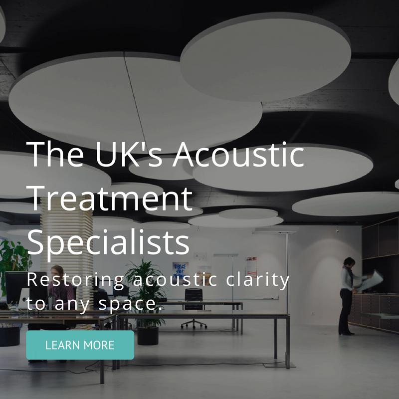Acoustic treatment mobile banner image