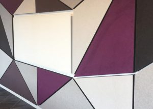 Autex cube wall
