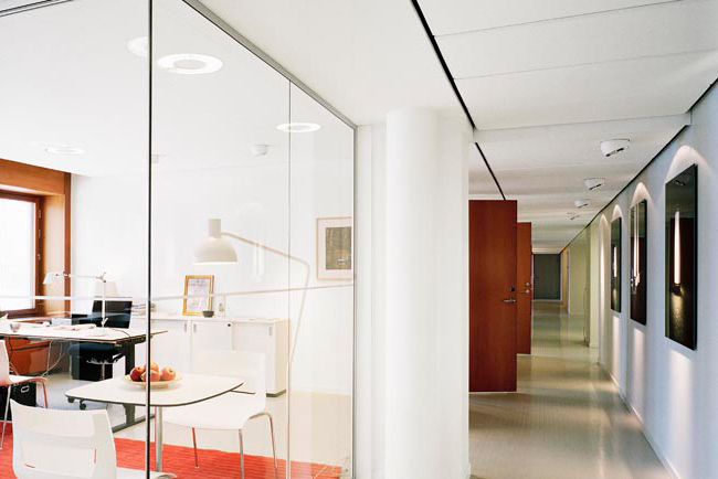 ecophon combison ceiling system