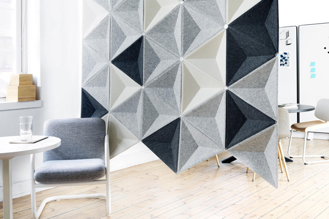 abstracta aircone grey panels