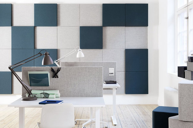 abstracta soneowall panels in office
