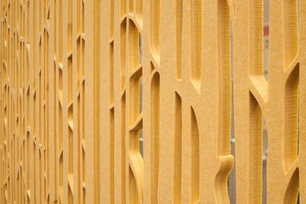 yellow acoustic screens