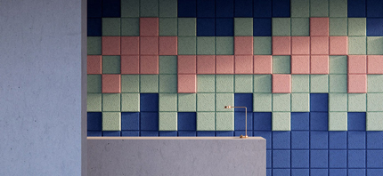baux pixel acoustic panels