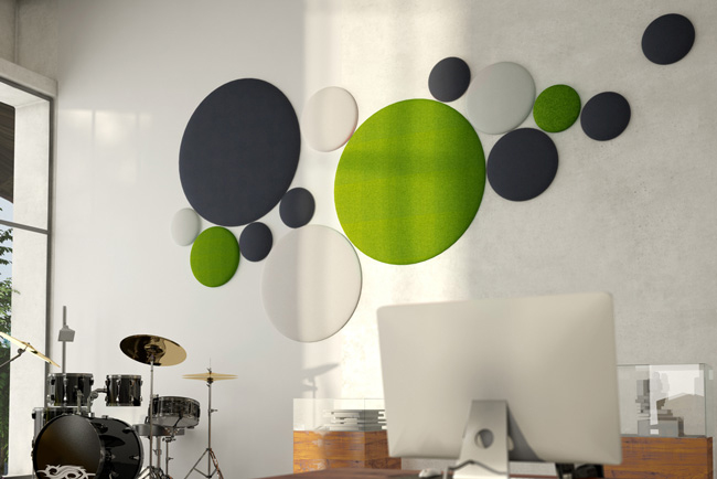 wobed wool bubble acoustic panels