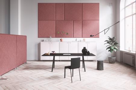pink domo wall
