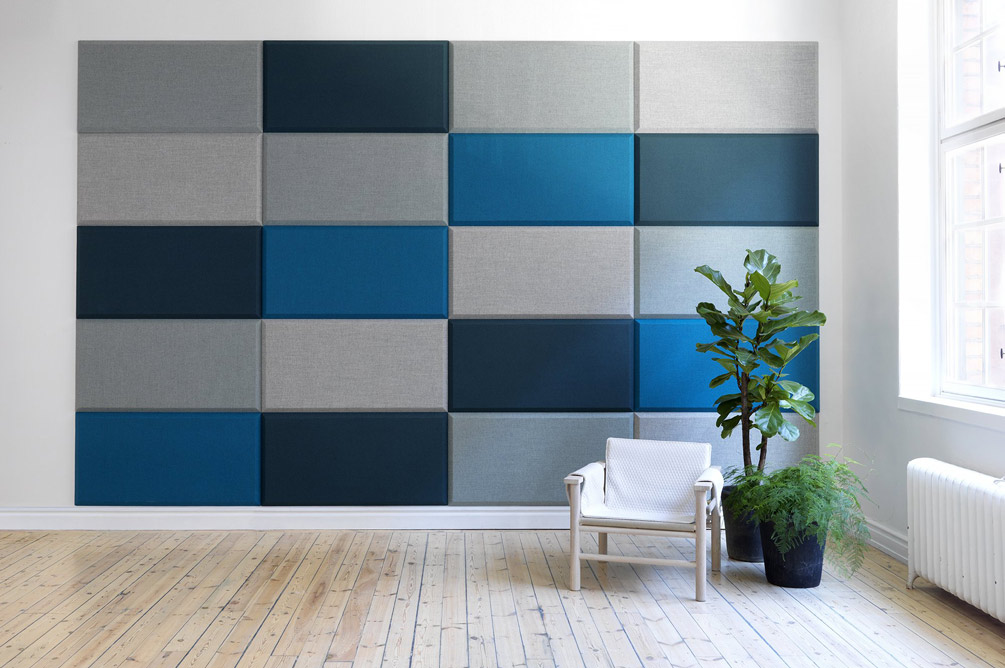 blue domo wall panels