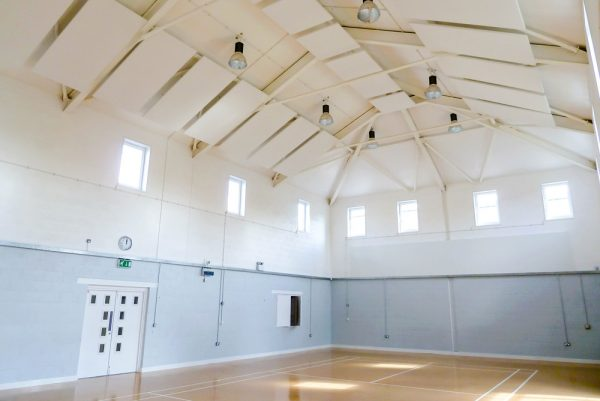 acoustic panels in village hall