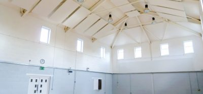 acoustic panels in community hall