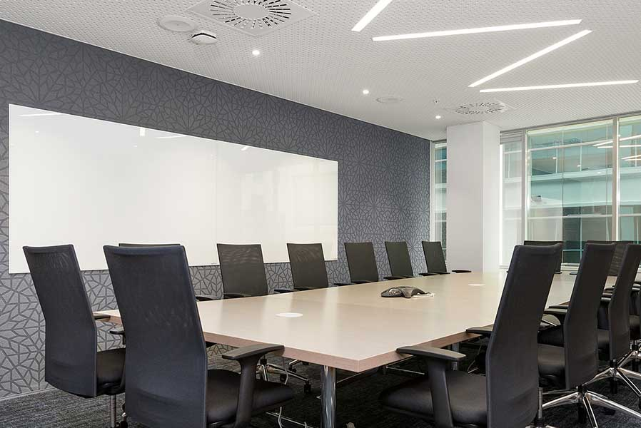 autex etch in a meeting room